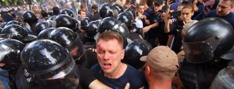 Протестувальники покинули міськраду Одеси і пообіцяли вимагати відставки мера у Порошенка