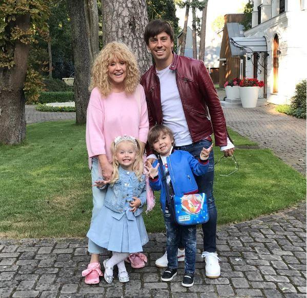Галкін та Пугачова із дітьми