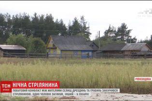 На Рівненщині молодики влаштували між сільські розбірки із стріляниною