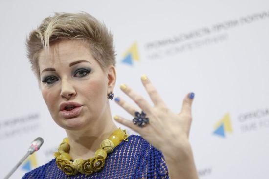 Максакова дала перший урок співу в українській академії