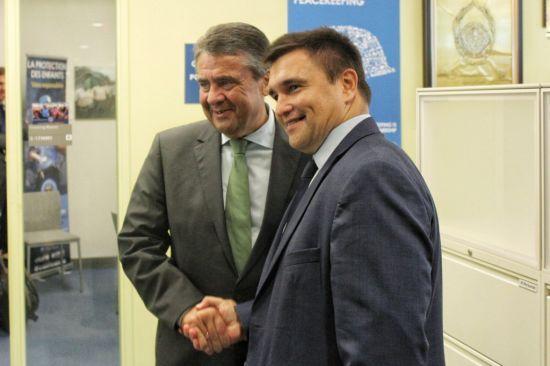 Голова МЗС Німеччини виступив за миротворчу місію на усій території окупованого Донбасу
