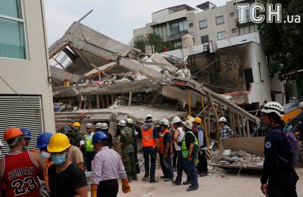 Найбільш смертоносний землетрус за 20 років: у Мексиці невпинно росте кількість жертв