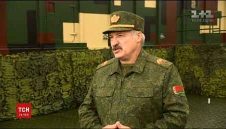 Лукашенко запевняє, що спільні із Росією навчання не становлять загрози для України