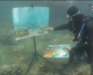 Мой путеводитель. Киев разноцветный - подводная живопись и женщина-праздник