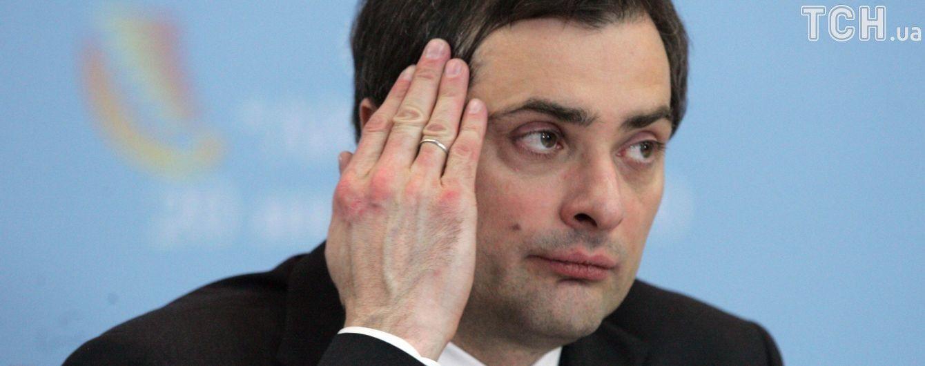 Сурков рассказал первые подробности встречи с Волкером относительно Донбасса