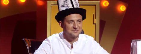 "Владимира Зеленского короновали на съемках ""Рассмеши комика"""
