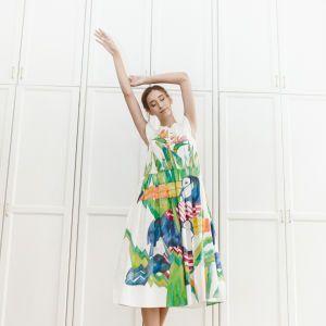 Цветы и птицы в коллекции платьев бренда NYMPH DRESSES