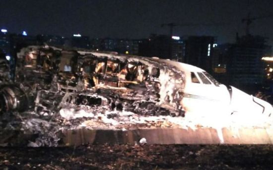 В аеропорту у Стамбулі розбився приватний літак