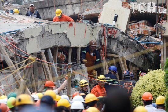 У Мексиці до майже 300 осіб зросла кількість жертв землетрусу