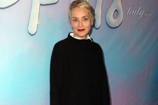 Прекрасна в 59: неувядающая Шерон Стоун в элегантном образе на премьере фильма