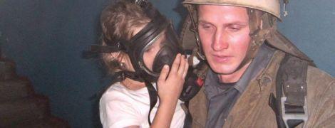 Вогнеборці врятували шістьох дітей з пожежі на Дніпропетровщині