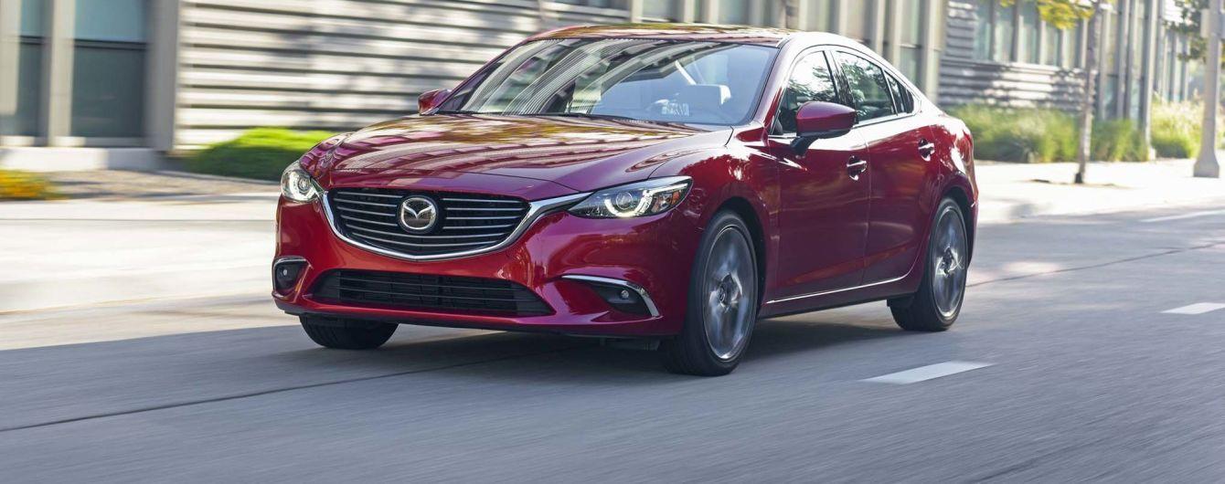 Mazda6 получит задний привод