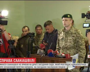 Михеїл Саакашвілі не приїхав на друге засідання Мостиського суду на Львівщині