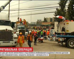 Подземные толчки до сих пор мешают спасателям доставать людей из-под завалов в Мексике