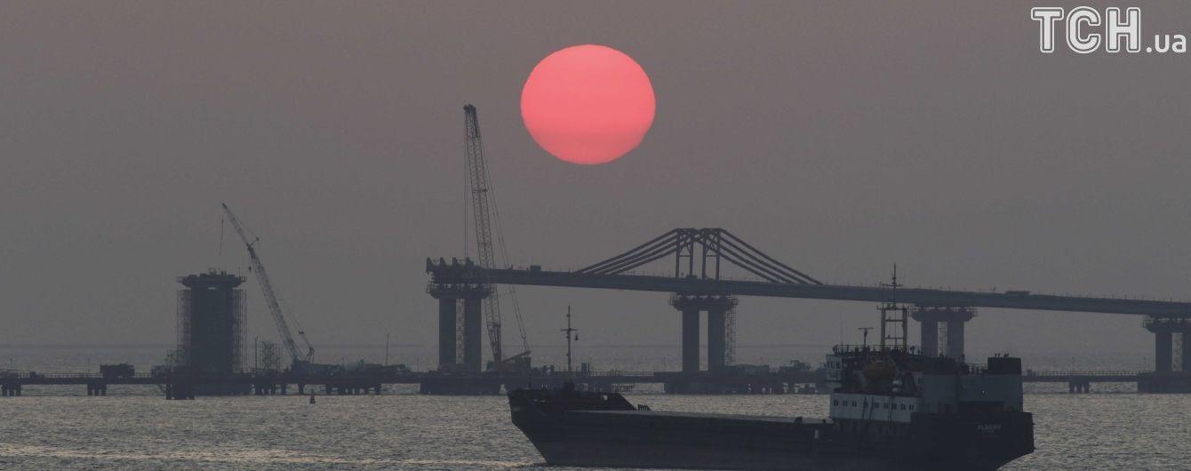 Для будівництва Керченського моста використовують токсичний пісок із отруйним миш'яком