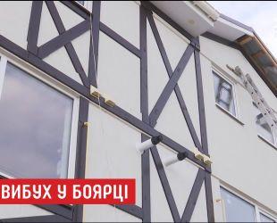От мощного взрыва в крыше трехэтажки в Боярке образовалась дыра