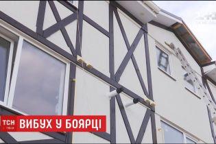 Від потужного вибуху в даху триповерхівки в Боярці утворилася діра