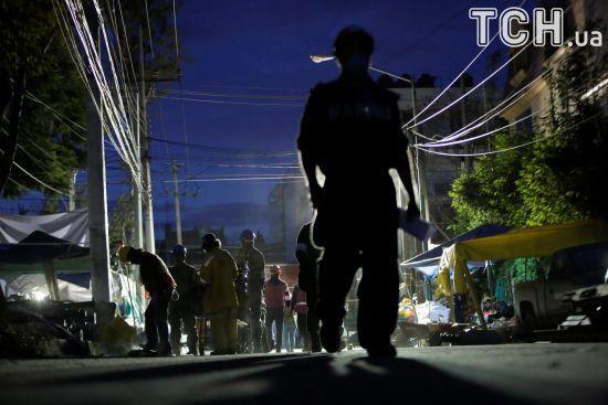 Біля Мексики стався другий за останній тиждень потужний землетрус