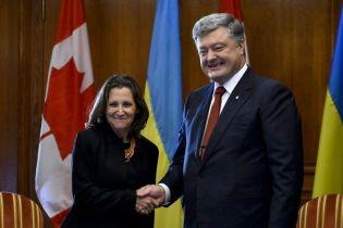 Канада займатиме принципову позицію в питанні санкційного тиску на Москву
