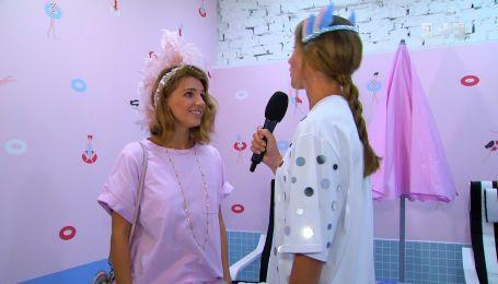 Дизайнерка Катерина Сільченко розповіла про любов до пір'я в одязі та заняття танцями