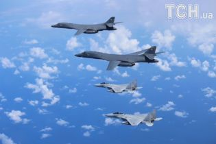 США полякали Північну Корею бомбардувальниками та винищувачами