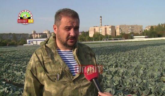 """Живий і посеред капусти. """"Міністр ДНР"""" після замаху активно роздає інтерв'ю"""