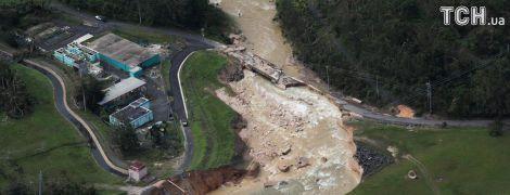 """Ураган """"Марія"""" обвалив дамбу у Пуерто-Рико: провадиться евакуація 70 тисяч людей"""