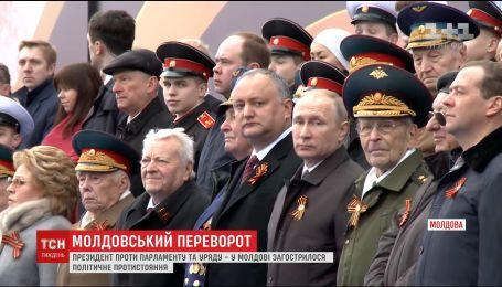 Угроза импичмента: Игорь Додон пошел на открытое расшатывание политической ситуации в собственной стране
