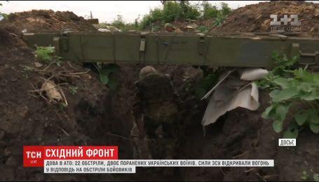 Двоє українських воїнів дістали поранення на передовій