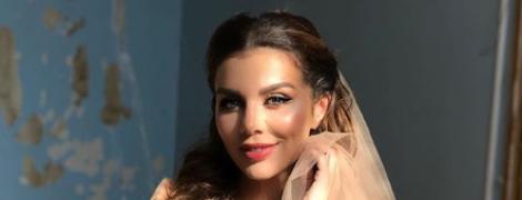 Восточная невеста: Анна Седокова показала снимок в свадебном платье