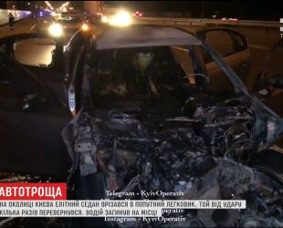 На окраине Киева произошло смертельное ДТП с участием элитного BMW