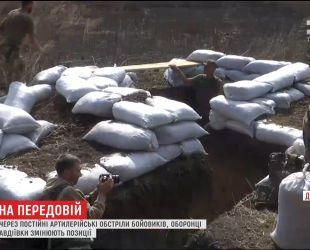 Защитники Авдеевки меняют позиции из-за постоянных артиллерийских обстрелов боевиков