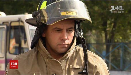 Українські вогнеборці отримали протипожежне обладнання від канадських колег