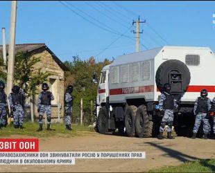 ООН обвинила Москву в нарушениях прав человека в Крыму