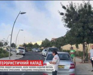 Палестинец застрелил трех израильтян в окрестностях Иерусалима