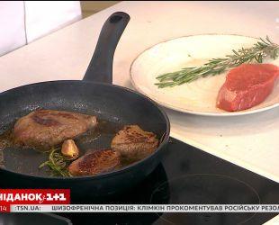 Лучший шеф-мясник мира Джон Кадьйо приготовил стейки в прямом эфире