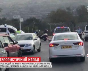 На окраине Иерусалима неизвестный совершил террористическое нападение на мирных жителей