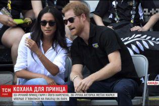 Британський принц уперше з'явився на людях зі своєю дівчиною