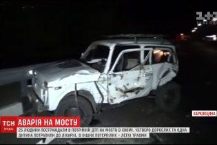 На Харківщині сталася моторошна аварія, постраждали діти