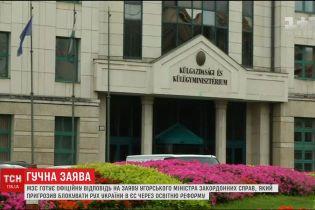 Україна намагатиметься владнати непорозуміння із Угорщиною