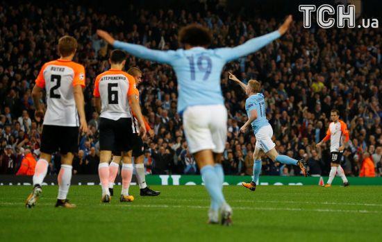"""""""Шахтар"""" із високо піднятою головою поступився """"Манчестер Сіті"""""""