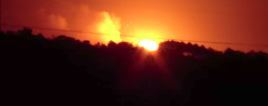 Пожежу на військових складах під Вінницею гасять більше 1200 чоловік – ДСНС