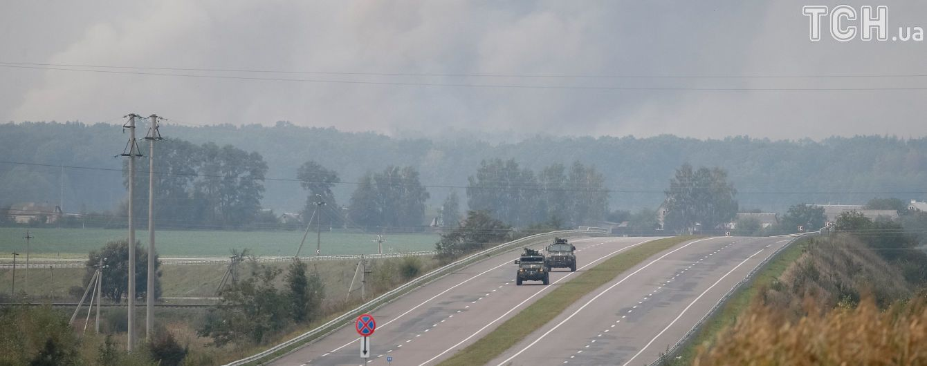 Схоже на безпілотник: Бірюков розповів про диверсію на військових складах під Калинівкою