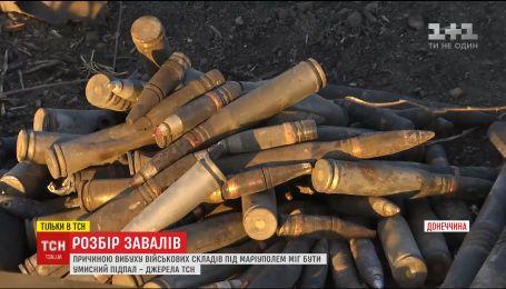 Слідчі намагаються знайти причину вибухів боєприпасів на складах біля Новоянисоля