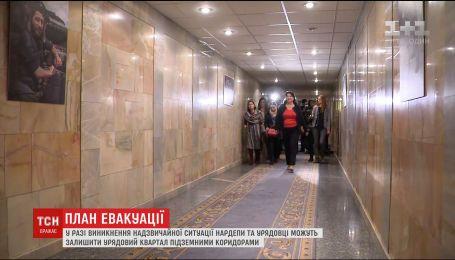 Парубий рассказал о подземных переходах под ВР для спасение нардепов