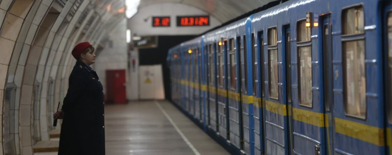 В Киеве на Рождество метро будет работать ночью