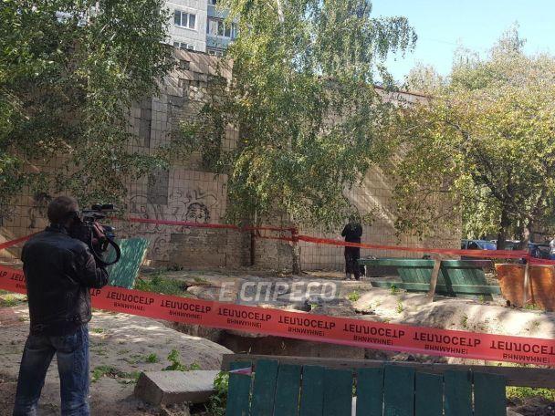 Водному здворів Києва знайшли обезголовлений труп