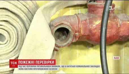 Внеплановые проверки: коммунальные учреждения игнорируют системы противопожарной безопасности