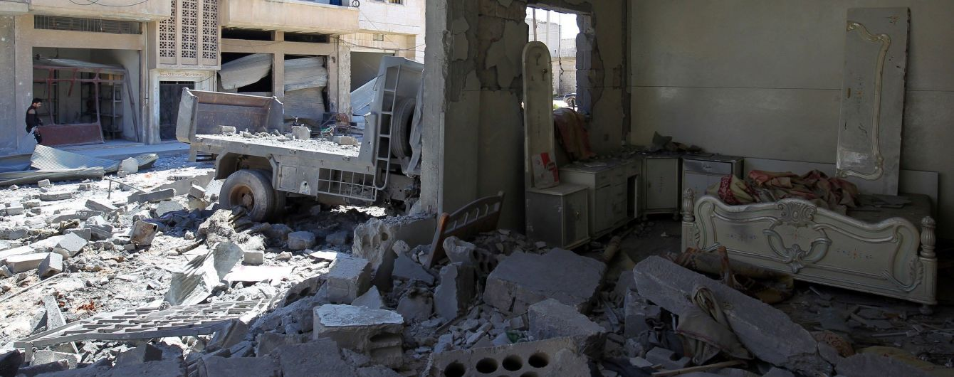 Россия похвасталась видео авиаударов в зоне деэскалации в Сирии