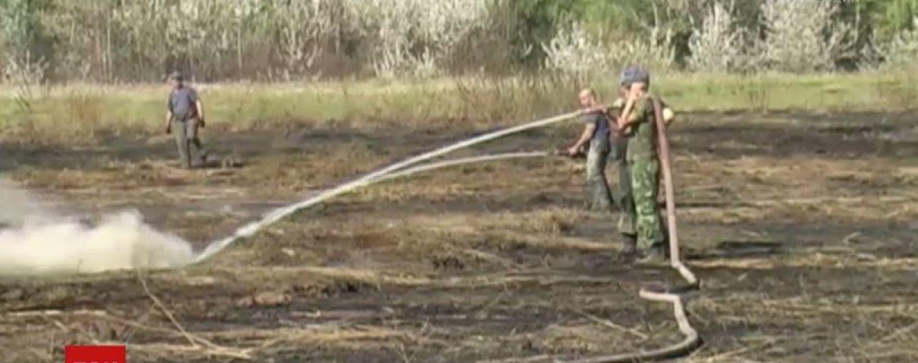 На Полтавщині горить 70 гектарів торфовищ: на ліквідацію кинули 30 пожежних машин